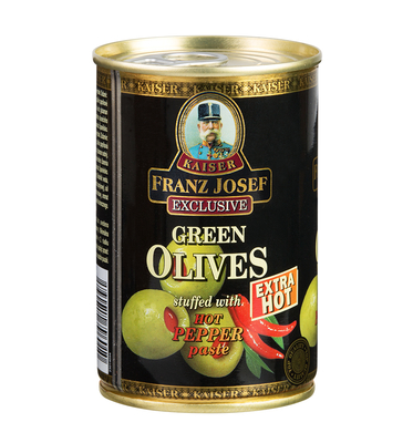 Olives Stuffed with Hot Pepper Paste 300 g