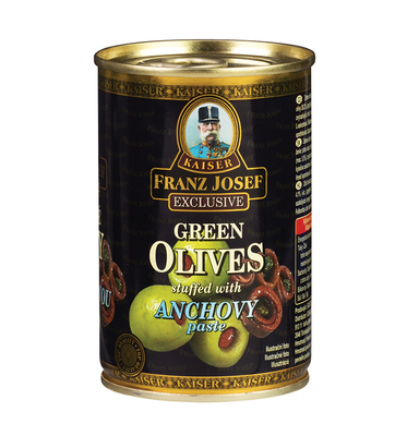 Green Olives Stuffed with Anchovy Paste 300g