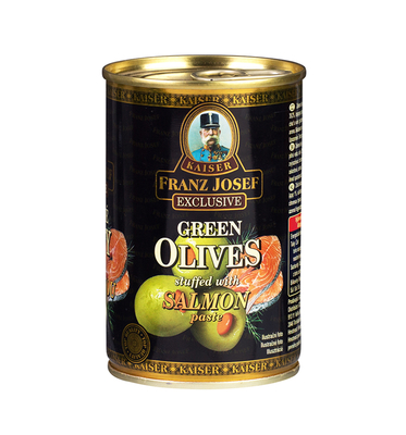 Green Olives Stuffed with Salmon Paste 300g
