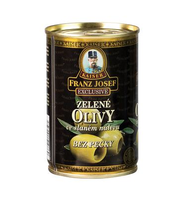 Green Pitted  Olives 300g