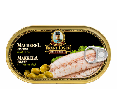 Mackerel Fillets in Olive Oil 170g
