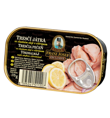 Cod Liver with Lemon in Oil 115g