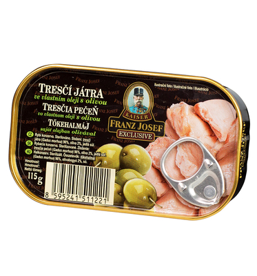 Cod Liver with Olive in Oil 115g