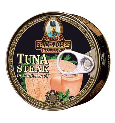 Tuna Steak in Sunflower Oil 170g