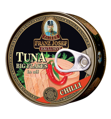 Tuna Big Flakes in Oil with Chilli 170g