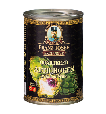 Quartered Artichokes in Salty Brine 400 g