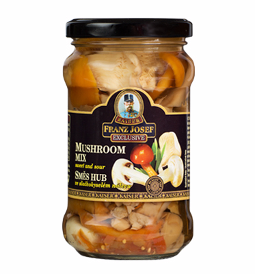 Mushrooms Mix in Sweet and Sour Pickle, 280g
