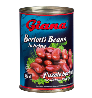 Borlotti Beans in Salted Brine, 425ml