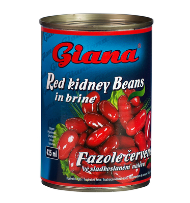 Red Beans in Sweet and Salty Brine, 425ml