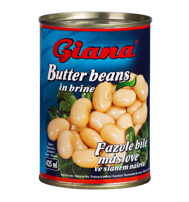 White Butter Beans in Salted Brine, 425ml