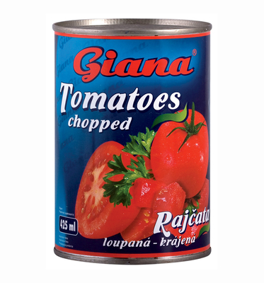 Peeled Tomatoes, Chopped, 425ml