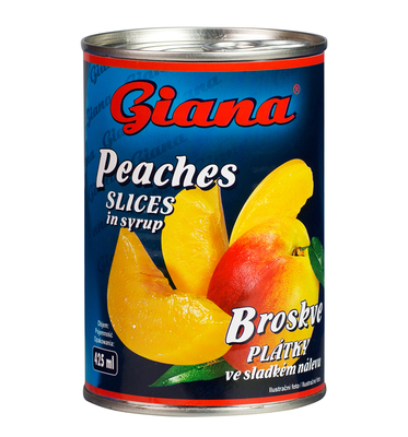 Peaches Slices in syrup 425ml