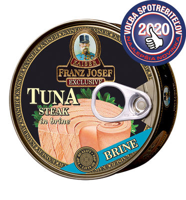 Tuna steak in brine 170g
