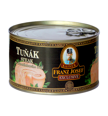 Tuna Steak in Sunflower Oil 385g